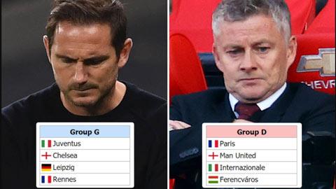 Bốc thăm thử Champions League: M.U, Chelsea gặp khó, Liverpool và Man City dễ thở