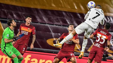Ronaldo bật cao bao nhiêu khi đánh đầu ghi bàn vào lưới Roma?