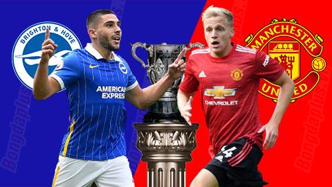 Trực tiếp Brighton vs Man United, 01h45 ngày 1/10