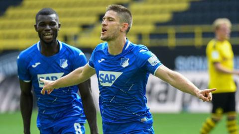 Kramaric đang làm lu mờ Lewandowski và Haaland