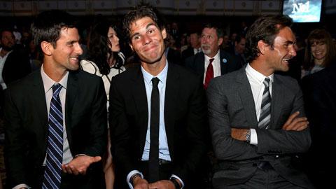 Giải mã sức mạnh của bộ ba Federer, Nadal & Djokovic trong làng banh nỉ