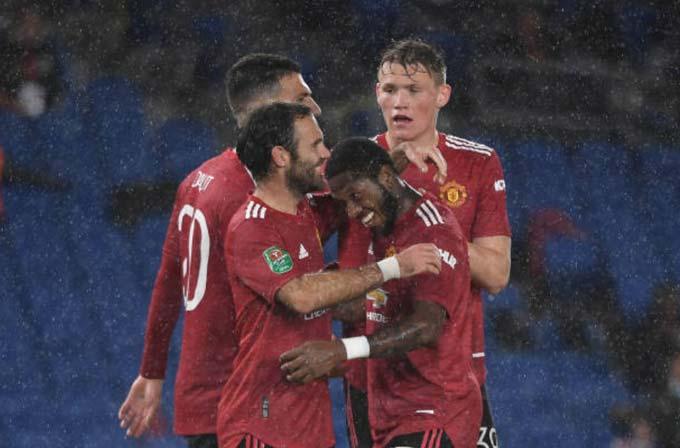 Mata đã có 2 bàn thắng ở cúp Liên đoàn Anh mùa này