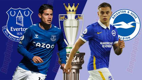 Nhận định bóng đá Everton vs Brighton, 21h00 ngày 3/10