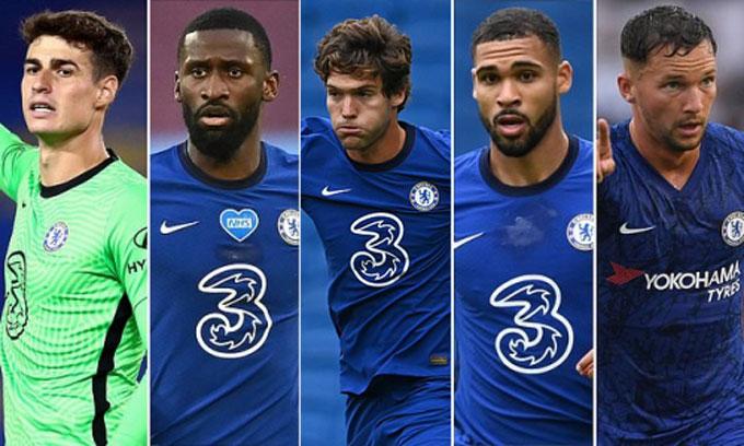Rất nhiều ngôi sao cũng đang chuẩn bị rời Chelsea theo dạng cho mượn hoặc bán đứt