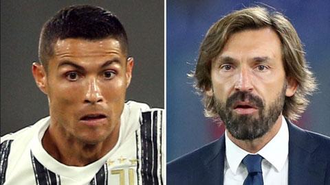 'Ronaldo sẽ được nhắc tới trong 300 năm nữa và Pirlo là HLV hoàn hảo'