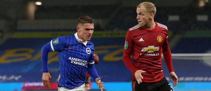 Những điểm nhấn trận Brighton 0-3 M.U: Mata vẫn còn son, ấn tượng bước một Van de Beek