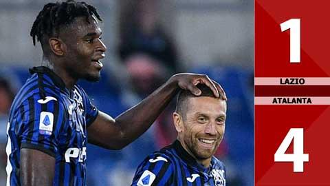 Lazio 1-4 Atalanta (đá bù vòng 1 Serie A 2020/21)