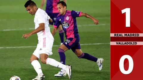 Real Madrid 1-0 Valladolid (Vòng 4 La Liga 2020/21)