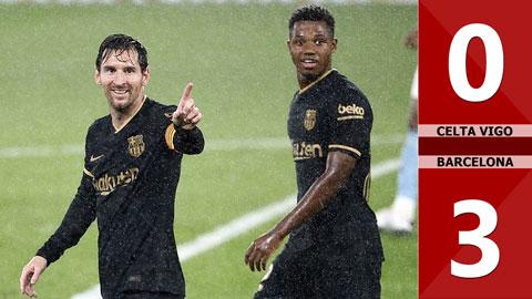 Celta Vigo 0-3 Barcelona (Vòng 4 La Liga 2020/21)
