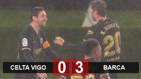 Kết quả Celta Vigo 0-3 Barca: Song sát Fati & Messi tỏa sáng - kết quả xổ số đà nẵng