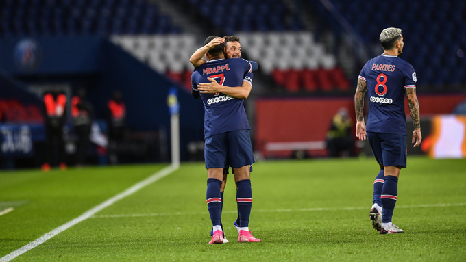 Florenzi ghi bàn thắng đầu tiên cho PSG