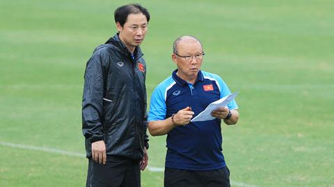 HLV Park Hang Seo dẫn dắt U22 Việt Nam dự World Cup thu nhỏ ở Pháp