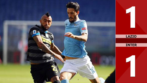 Lazio 1-1 Inter (vòng 3 Serie A 2020/21)