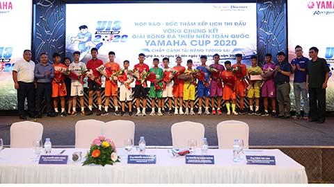 VCK giải U13 quốc gia: SLNA đụng HAGL và PVF