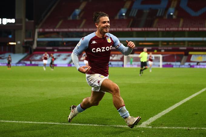 Đội trưởng Grealish hoàn tất cú đúp giữa hiệp 2 ấn định chiến thắng hủy diệt cho Aston Villa