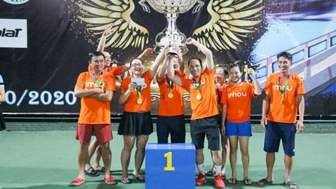 Giải quần vợt cúp Tâm Nhân Ái Mở rộng lần 1: Lan tỏa tấm lòng yêu thương