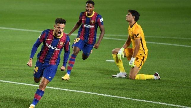 Coutinho là cầu thủ Barca chơi tốt nhất ở trận hòa Sevilla 1-1