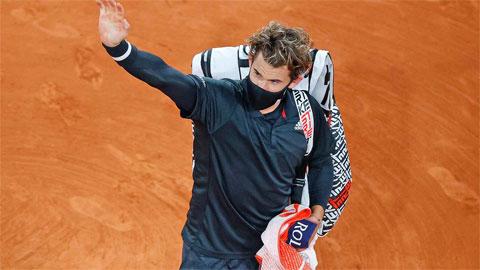 ĐKVĐ US Open Dominic Thiem bị loại ở tứ kết Roland Garros 2020