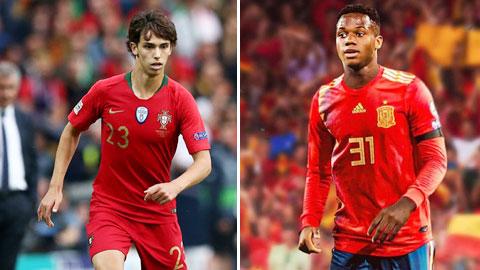 Joao Felix vs Ansu Fati: Đối đầu 'Ronaldo và Messi mới'