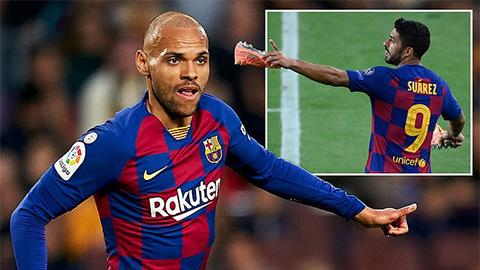 Áo số 9 của Luis Suarez ở Barca đã có chủ nhân mới