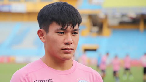 Hậu vệ 21 tuổi của Hà Nội FC không ngán cặp ngoại binh triệu đô của TP.HCM