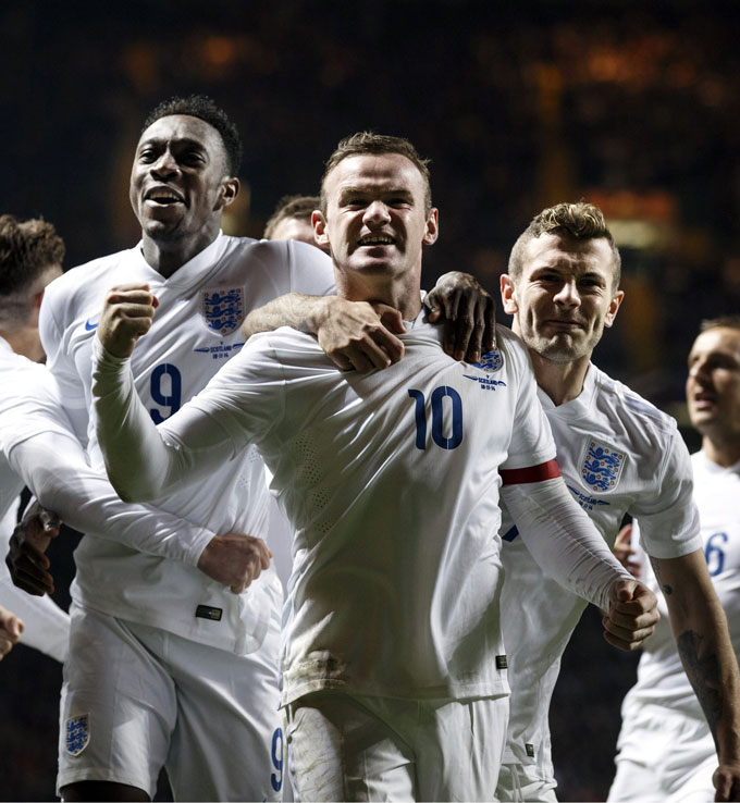 Họ cũng từng là thành viên ĐT Anh dự World Cup 2014