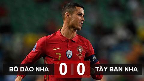 Bồ Đào Nha 0-0 Tây Ban Nha: Ronaldo đen đủi, Bồ Đào Nha bất phân thắng bại với Tây Ban Nha