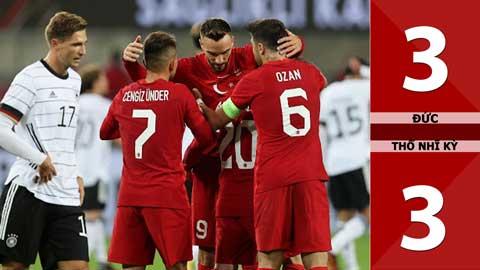 Đức 3-3 Thổ Nhĩ Kỳ (Giao hữu Quốc tế 2020)