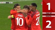 Thụy Sỹ 1-2 Croatia (Giao hữu Quốc tế 2020)