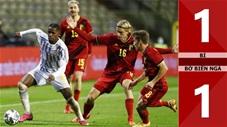 Bỉ 1-1 Bờ Biển Ngà (giao hữu quốc tế 2020)