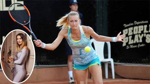 """Người đẹp Nga bị nghi """"bán mình"""" cho mafia ở Roland Garros 2020"""