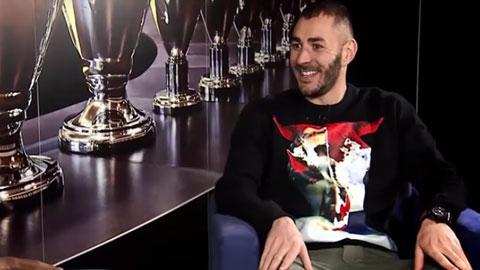 Tiền đạo Karim Benzema (Real): 'Tôi sẽ làm HLV sau khi treo giày'