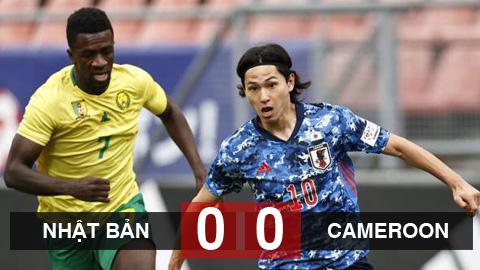 Nhật Bản 0-0 Cameroon: Minamino im tiếng, Nhật bị cầm hòa đáng tiếc