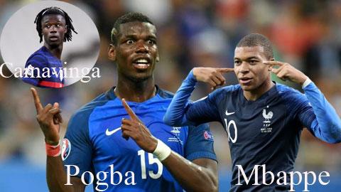 """Paul Pogba: """"Camavinga là hiện tượng tương tự Mbappe"""""""