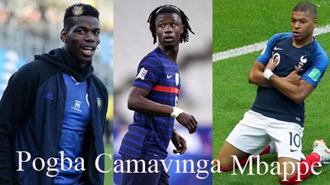 Pogba đánh giá Camavinga có nhiều tố chất giống đàn anh Mbappe