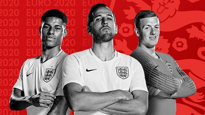 Rashford, Kane và Pickford gần như chắc chắn có suất dự EURO