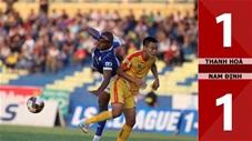 Thanh Hóa 1-1 DNH Nam Định (Giai đoạn 2 - Vòng 1 V.League 2020)
