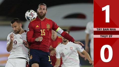 Tây Ban Nha 1-0 Thụy Sỹ (Nations League 2020)