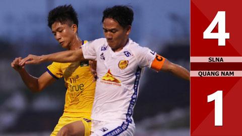 SLNA 4-1 Quảng Nam (Giai đoạn 2 - Vòng 1 V.League 2020)