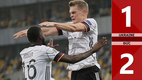 Ukraine 1-2 Đức (Nations League 2020)