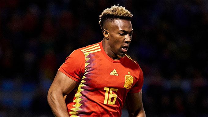 Traore mới được khoác áo ĐT Tây Ban Nha
