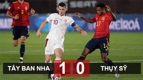 Tây Ban Nha 1-0 Thụy Sỹ: La Roja giữ vững ngôi đầu nhóm 4 League A