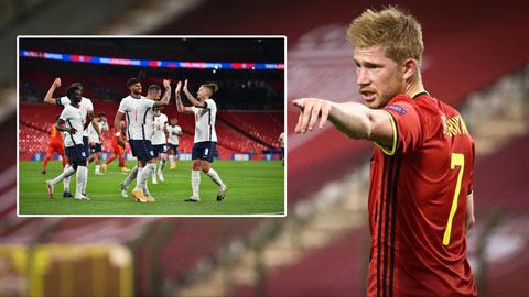 De Bruyne: 'ĐT Anh có thể vô địch cả EURO lẫn World Cup'