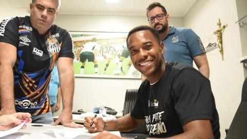 Robinho đầu quân cho CLB cũ Santos với mức lương không tưởng