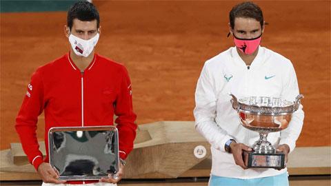 Djokovic, Federer nói gì khi Nadal đoạt Grand Slam thứ 20