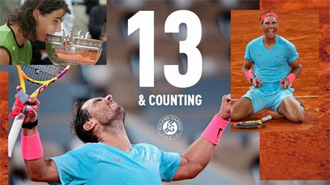 """Nadal: """"Tôi từng không dám nghĩ đến cơ hội vô địch"""""""