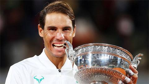 Nadal vô địch Roland Garros lần thứ 13, cân bằng kỷ lục 20 Grand Slam của Federer
