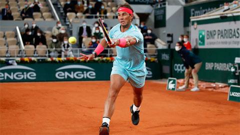 Nadal thắng 22 trận và thua 4 trận ở mùa giải 2020