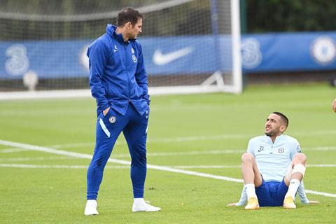 HLV Lampard sẽ được hưởng lợi sau những gì mà Ziyech đã thể hiện trong màu áo Morocco