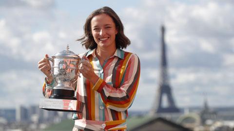 Iga Swiatek vô địch đơn nữ Roland  Garros 2020: Chiến thắng 'không tì vết'